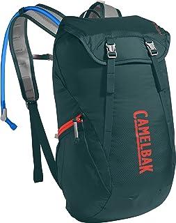 CAMELBAK Arete Pack de hidratación, Unisex Adulto, Deep Teal/Hot Coral, 18 l