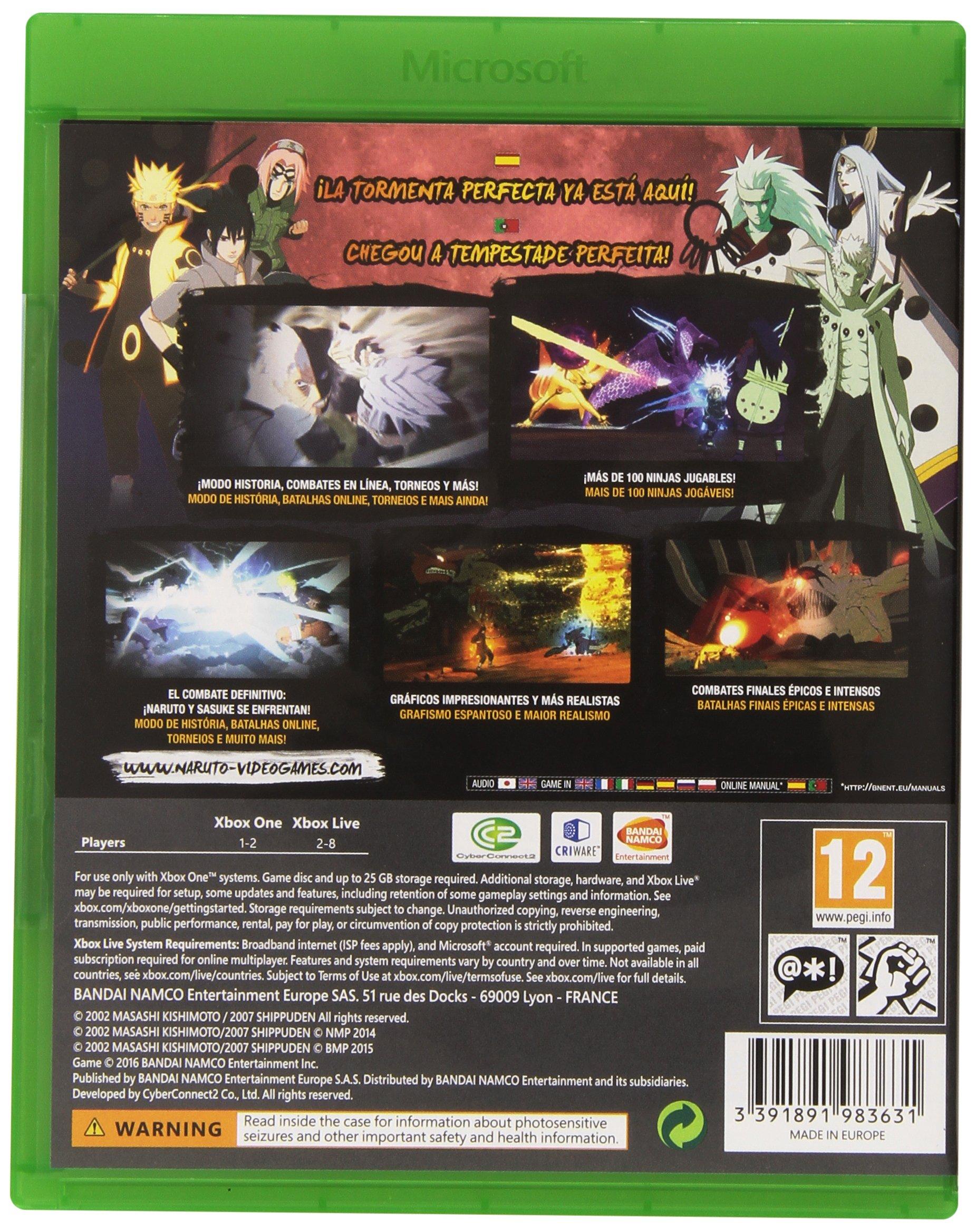 Naruto Shippuden: Ultimate Ninja Storm 4 - Day One Edition: Amazon.es: Videojuegos