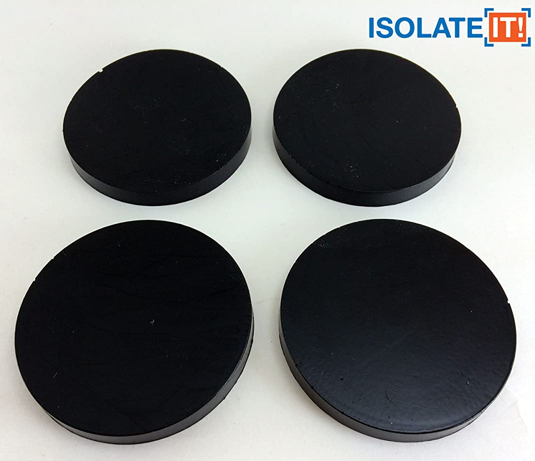 Isolate It!: Sorbothane Vibration Isolation Circular Disc Pad .25