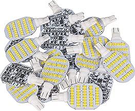 Super Bright 921 T10 Wedge Panels LED Bulbs for 12V RV Ceiling Dome Light RV Interior Lighting Trailer Camper, Warm White 600 Lumens (Pack of 20)
