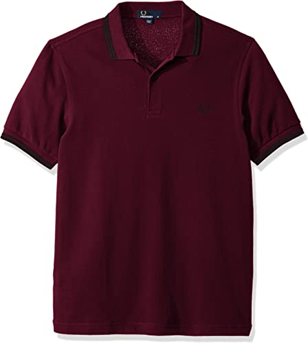 Frouge Perry M3600-f23-s Polo, Rouge (Claret Mahog OXF F23), petit Homme