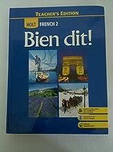 Best bien dit french 2 teacher's edition Reviews