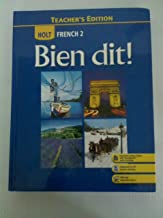 Best holt french 2 bien dit teacher edition Reviews