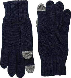 Ben Sherman Men's Textured Knit Glove