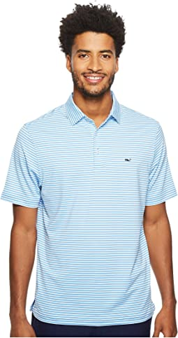 Vineyard Vines Golf - Winstead Stripe Sankaty Performance Polo