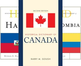 Historical Dictionaries of the Americas (15 Book Series)