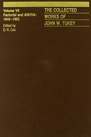 Amazon com: The Collected Works of John W  Tukey: Factorial