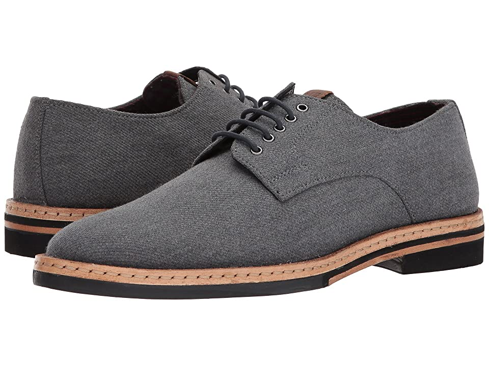 Ben Sherman Julian Plain Toe Oxford (Grey Wool) Men