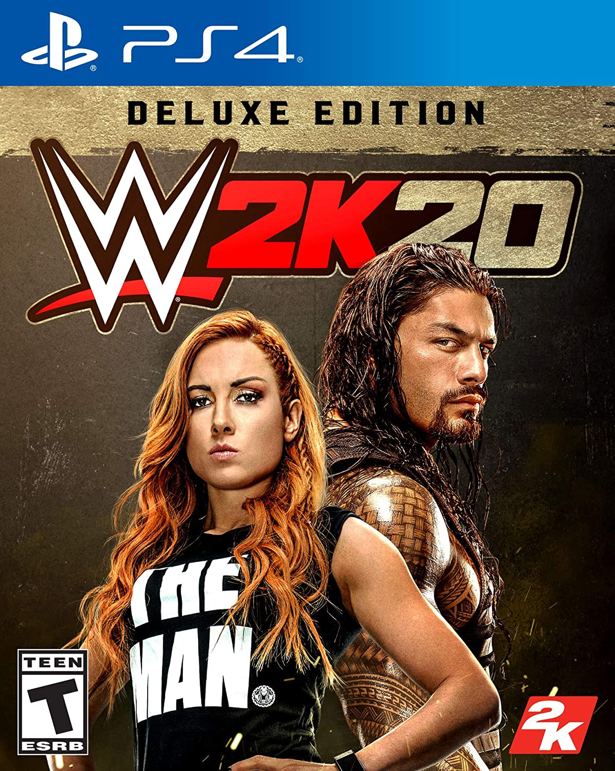 Over item handling New products, world's highest quality popular! WWE 2K20 Deluxe Playstation Edition 4