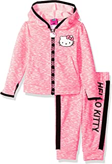 Hello Kitty Baby Girls' 2 Piece Embellished Active Set