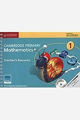 Cambridge Primary Mathematics Stage 1 Teacher's Resource with CD-ROM (Cambridge Primary Maths) Paperback
