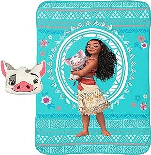 Disney Moana Nogginz and Blanket Set