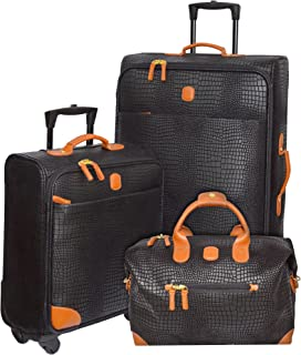 My Safari International Travelers Luggage Set (Black)