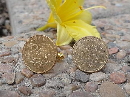 Nepali Coin Cufflinks