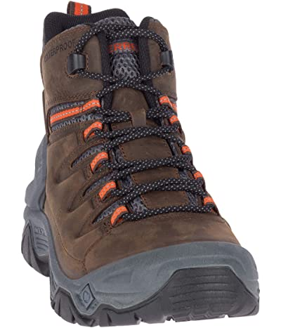 Merrell Strongbound Peak Mid Waterproof (Espresso/Rock) Men