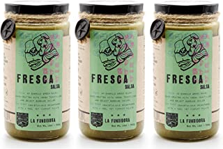 LA FUNDIDORA All Natural Authentic Traditional Mexican Salsa, 3 Pack (Fresca Salsa)