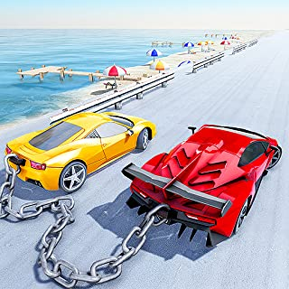 Chained Car Speed Racing 3D : Super Sports Car Fight To Death Race Off Drag Racing Game 2019