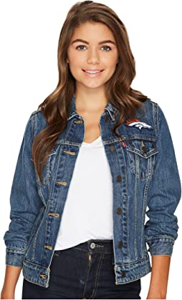 Levi's® Womens Broncos Sport Denim Trucker
