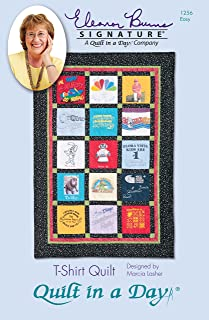 Quilt in a Day T-Shirt Quilt Pattern by Eleanor Burns