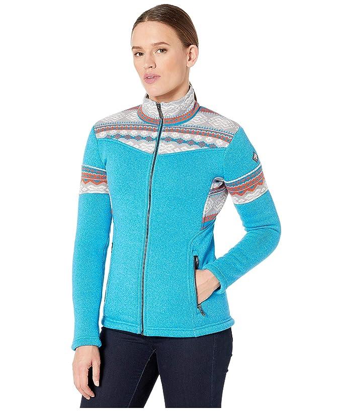 Bella Full Zip Fleece Jacket (Lagoon) Women's Coat