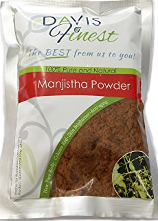 Manjistha Rubia Cordifolia Powder Anti-aging Glowing Face Mask Even Tone Skin Brightener Complexion Rescue - Pure Natural Red Hair Dye 100g