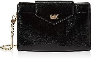 MICHAEL KORS Womens Medium Convertible Cross body Bag, Black