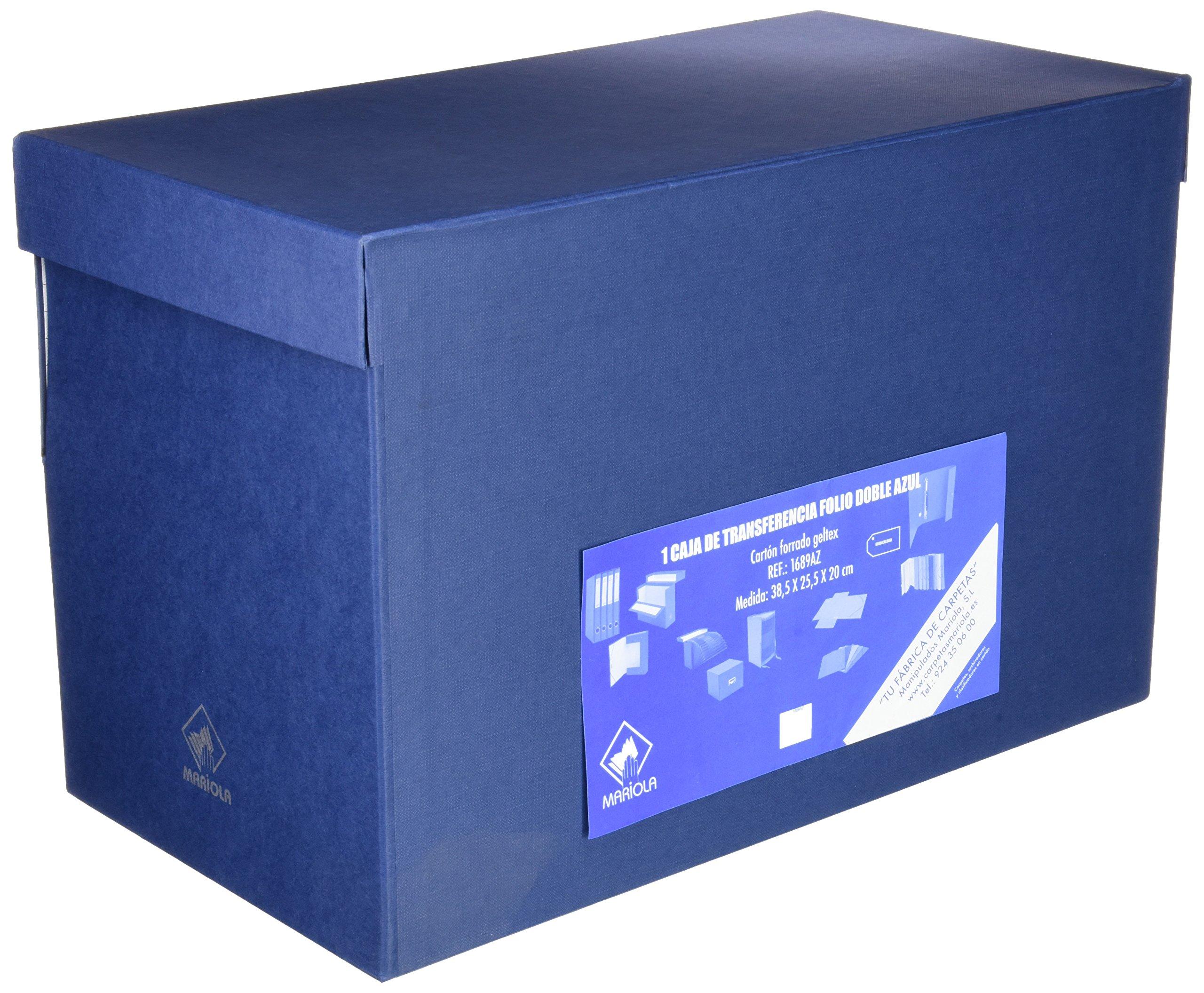 Mariola 946593 - Caja de transferencia forrada en papel, formato ...