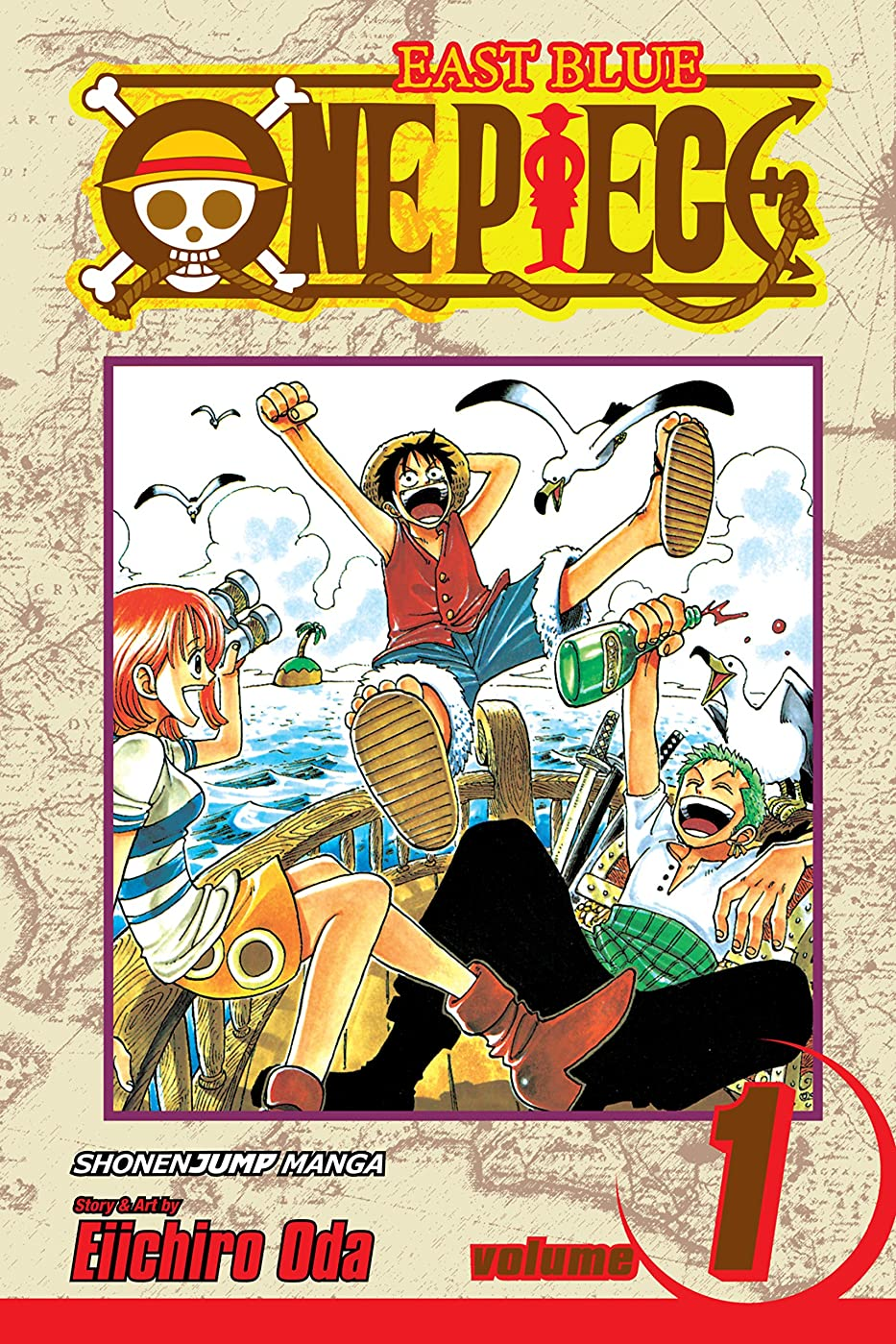 真鍮めまいがドキュメンタリーOne Piece, Vol. 1: Romance Dawn (One Piece Graphic Novel) (English Edition)