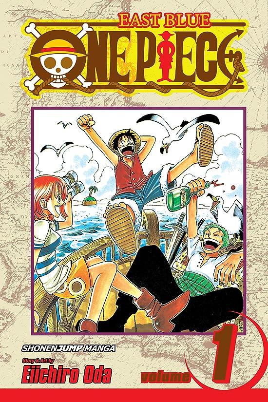 囲い共和党黒One Piece, Vol. 1: Romance Dawn (One Piece Graphic Novel) (English Edition)