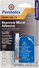 Permatex 81840 Extreme Rearview Mirror Profressional Strength Adhesive Kit