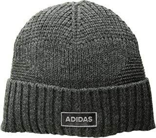 new products bf25f 890fc adidas Men s Pine Knot Beanie, Heathered Onix, One Size