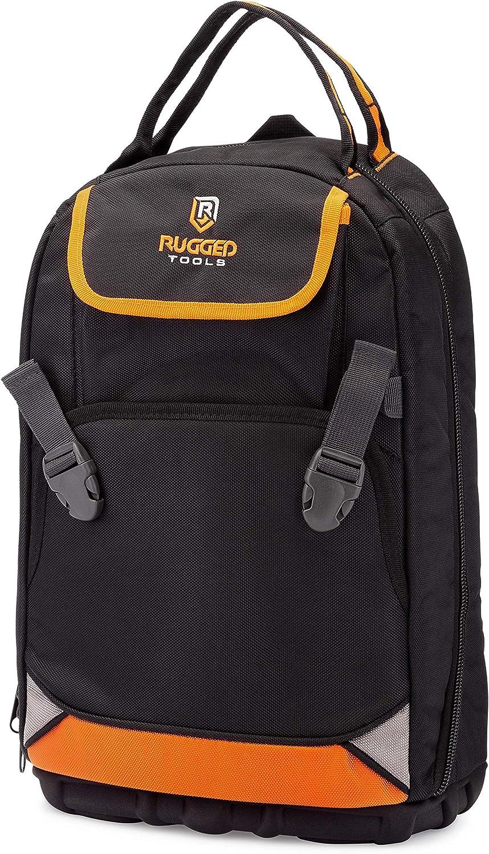 Rugged Tools Nashville-Davidson Mall Tradesman Tool Backpack - Pocket Cheap mail order specialty store Duty Heavy 28 Jobs