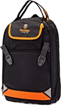 Rugged Tools Tradesman Tool Backpack – 28 Pocket Heavy Duty Jobsite Tool Bag..