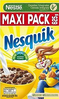 Nestlé Nesquik - Cereales de trigo y maíz tostados al cacao - 14 paquetes de cereales de 625g