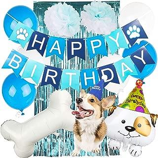Joeyfrad Dog Birthday Party Supplies - Puppy Themed Balloon Decorations