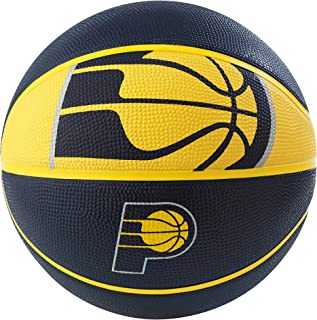 Spalding NBA Detroit Pistons NBA Courtside Team Outdoor Rubber Basketballteam Logo Royal Blue 29.5