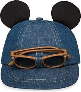 Disney Mickey Mouse Hat and Sunglasses Set for Baby Size 12-24 MO Multi