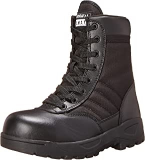 "Original S.W.A.T. Men's Classic 9"" Light Safety Toe Work Boot"