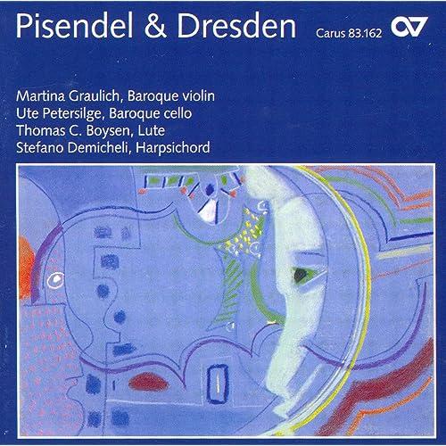 Violin Music - Pisendel, J.G. / Heinichen, J.D. / Hasse ...