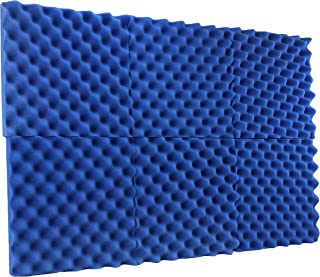 New Level 6 Pack - All Ice Blue Acoustic Panels Studio Foam Egg Crate 2