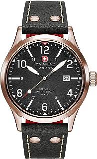 Swiss Military Hanowa - Reloj Analógico para Hombre de Cuarzo con Correa en Cuero 06-4280.09.007CH