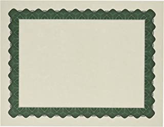 Great Papers! Metallic Green Certificate, 8.5 x 11 Inches, 25 Count (934225)