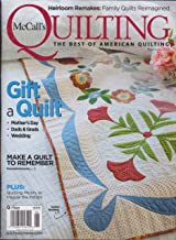 McCall's Quilting Magazine May/June 2019