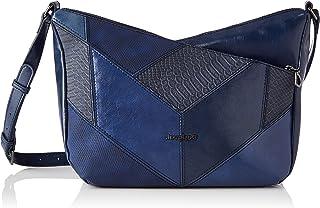 Desigual Womens PU Across Body Bag, Blue, U