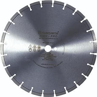 Husqvarna 542755556 High Pro Cured Concrete Diamond Blade, 26-Inch X .165-Inch