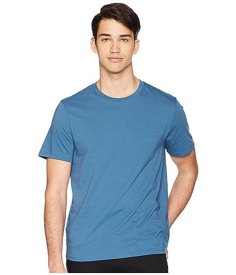 Cuello Vince Santorini Camiseta Redondo Azul dYRxqw