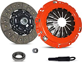 Clutch Kit Works With Nissan 350Z Infiniti G35 Track Touring Base X 35th Anniversary Edition Enthusiast Grand Touring 2003-2007 3.5L V6 GAS DOHC Naturally Aspirated (Vq35De; Stage 1)