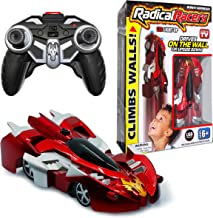 Radical Racers Wall-Climbing Car, Remote-Controlled with 360 Degrees Turn Functionality for Multi Directional Play As Seen On TV (Red)
