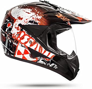 Ato Moto 805 Gs War Black Cross Helmet With Visor For Quad Atv Enduro Motorcycle Helmet Ece 2205 Size S To Xl Auto