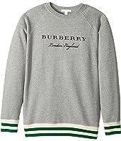 Burberry Kids - Double Rib Raglan Sweat (Little Kids/Big Kids)